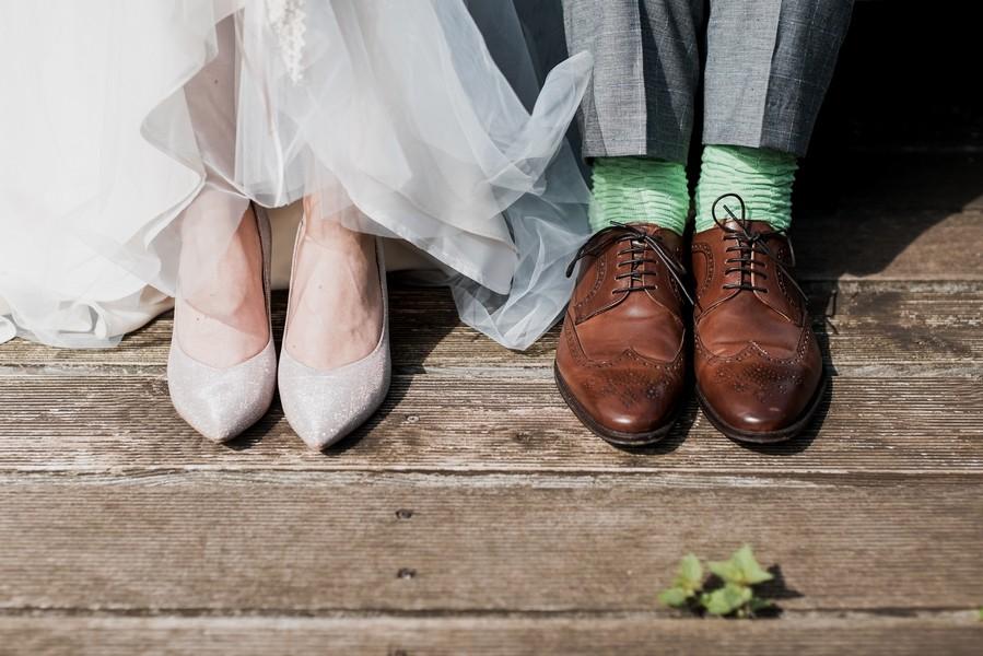 chaussette marié