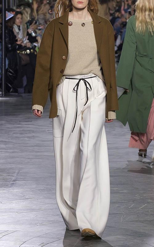 pantalon cargo large