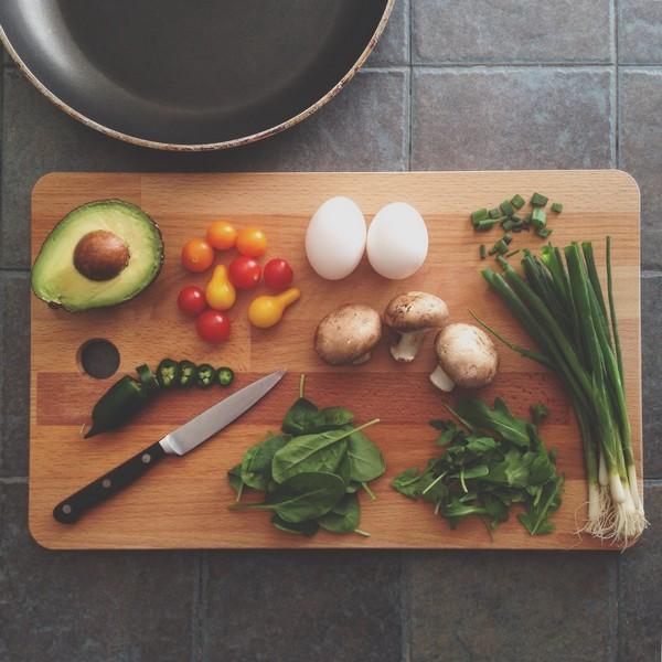 planche de légumes