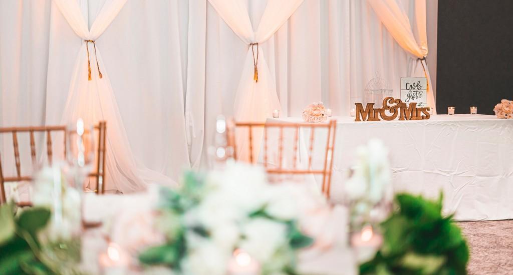 table et décoration de mariage